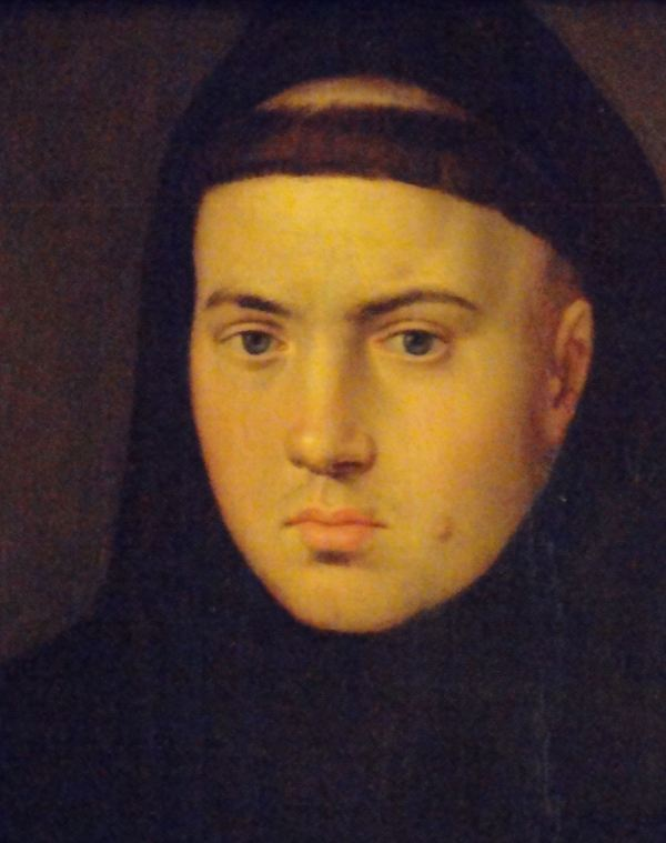 Pieter Pourbus, El Viejo. Monje. Segunda mitad del s.XVI. Museo Lázaro Galdiano. Madrid. Foto R.Puig