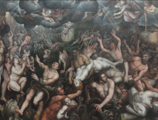 El Juicio Final de Rafaël Coxcie.1588-89.Museo de Bellas Artes. Gante. Foto R.Puig