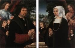 Gerhard Horenbout. La familia Von Pottelsberghe. Museo de Bellas Artes. Gante