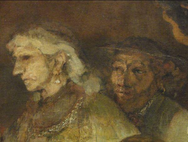 La conspiración de los bátavos. Rembrandt. Detalle. Rijksmuseum. Amsterdam. Foto R.Puig