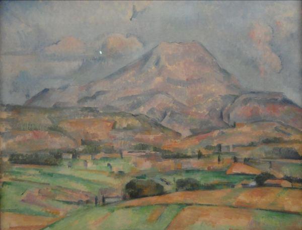 La Santa Victoria. Paul Cezanne. 1888. Foto R.Puig
