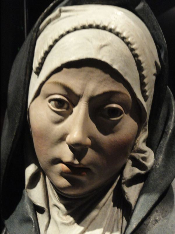 Mater dolorosa. Atribuida a Pietro Torrigiano principios del s.XVI. Detalle. Rijksmuseum. Amsterdam. Foto R.Puig