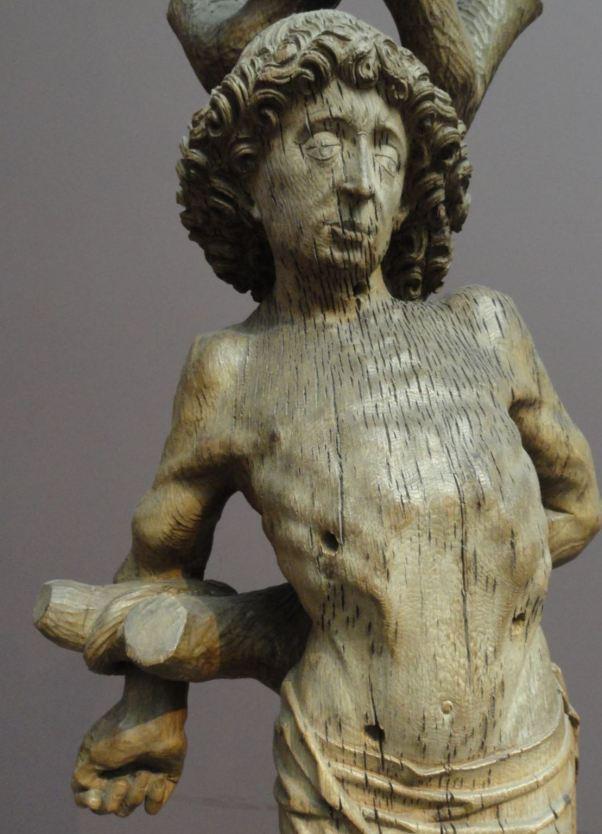 Meester Arn. San Sebastián. ca. 1480. Museo de Bellas Artes. Gante. Foto