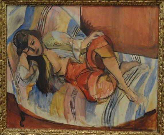 Odalisca. Henri Matisse. 1920 a 21. Foto R.Puig
