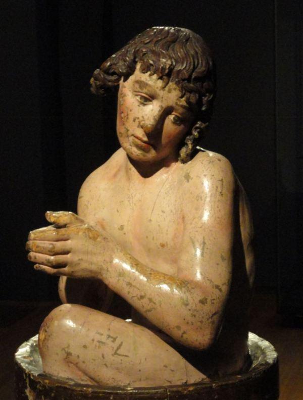 San Vito en el aceite hirviendo. ca.1500. Detalle. Rijksmuseum. Amsterdam. Foto R.Puig