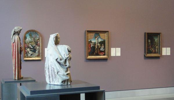 Una sala del Museo de Bellas Artes. Gante. Foto R.Puig