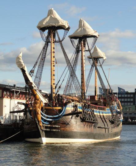 El Göteborg se enfunda para invernar. Foto R.Puig