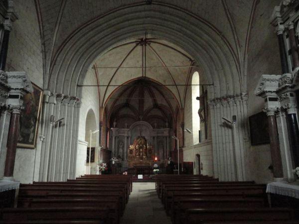 Fontevraud. La iglesia de San Miguel. Foto R.Puig
