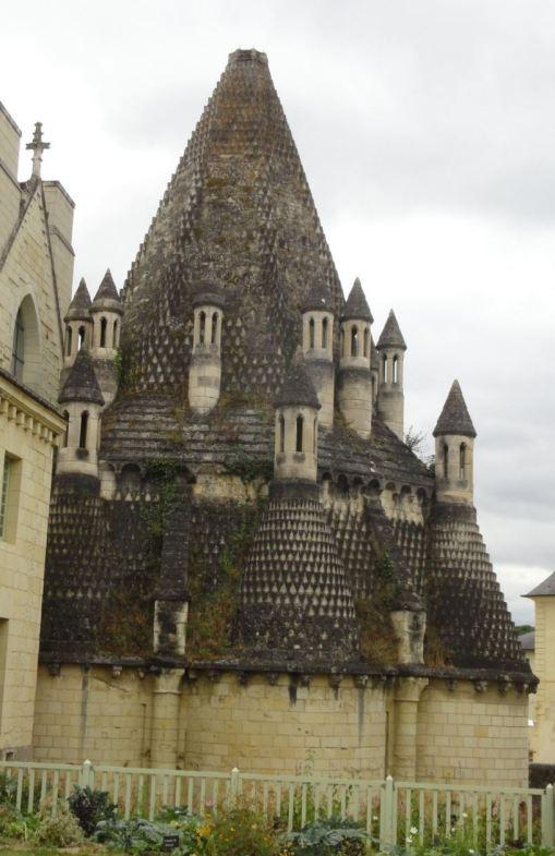 Fontevraud. Torre de las cocinas. Foto R.Puig