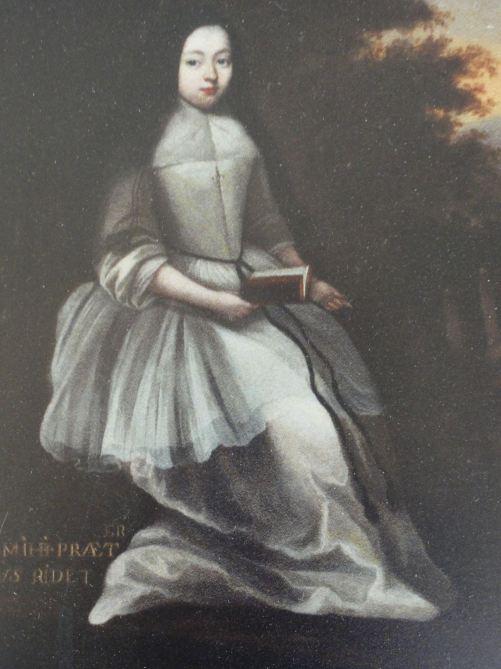 Marie-Gabrielle de Rochechouart abadesa de Fontevraud nombrada por Luis XIV.