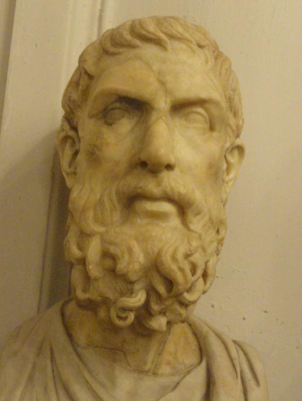 Aristóteles. Museos Capitolinos. Roma. Foto R.Puig