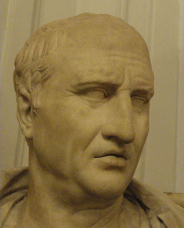 Cicerón. Museos Capitolinos. Roma.Foto R.Puig