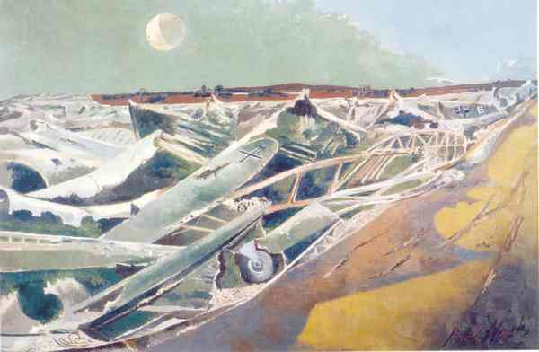 Dead Sea. Paul Nash 1940 41. Tate. London