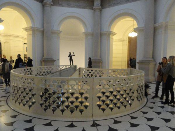 El vestíbulo de la Tate Britain. Foto R.Puig