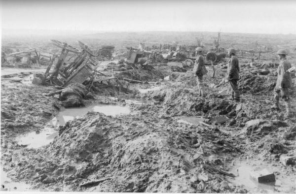 Granaderos ingleses en Ypres. Fuente walkleyhistory.files