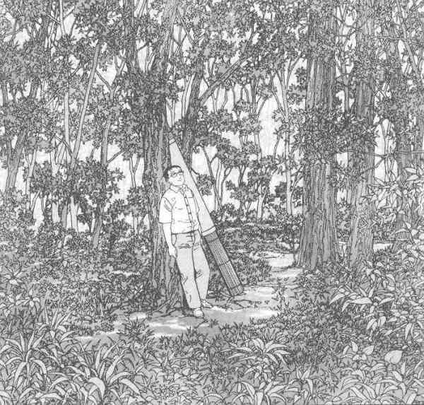 Jiro Taniguchi. L'homme qui marche.p.123