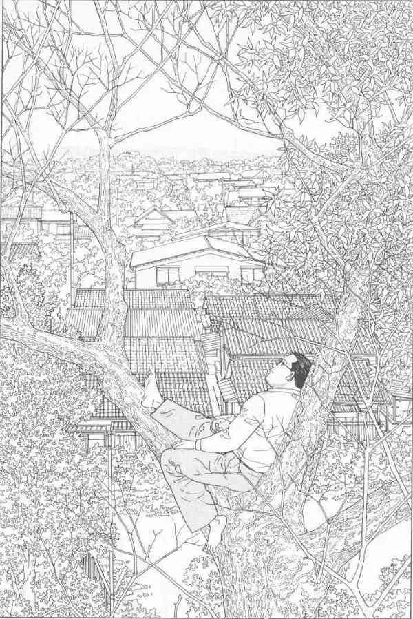 Jiro Taniguchi. L'homme qui marche. Paris, Casterman, 1995, p.35