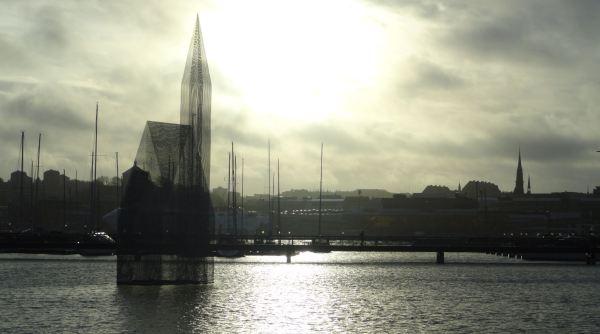 Lindholmen. Nueve de la mañana 22 de noviembre. Foto R.Puig
