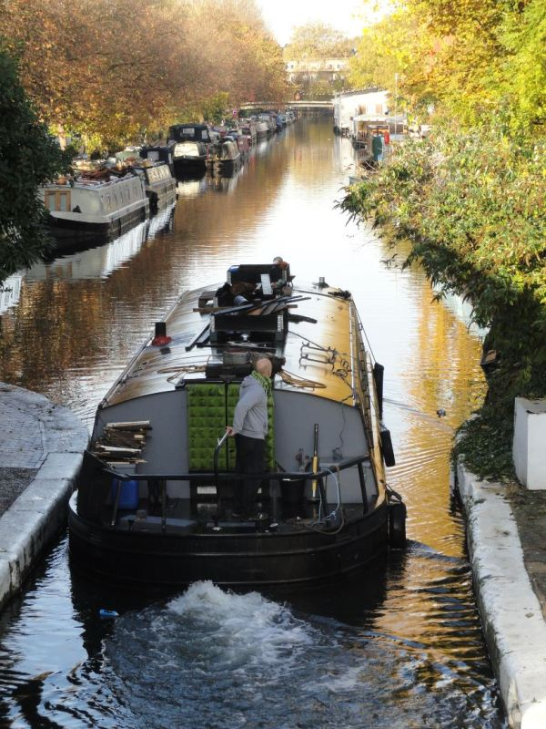 Navegacion por el Regent´s Canal. Foto R.Puig