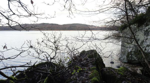 Por las márgenes del Rådasjön. 20 de noviembre a primera hora de la tarde. Foto R.Puig