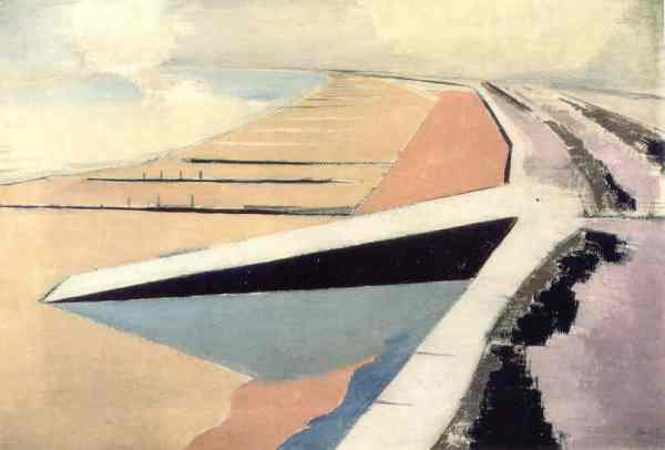 The Shore. Paul Nash 1923. Leeds Museum