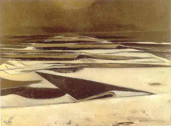 Winter Sea. Paul Nash 1925 37. York Art Gallery