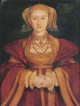 Anne de Cleves por HansHolbein el Joven. Museo del Louvre. Foto Wikimedia Commons