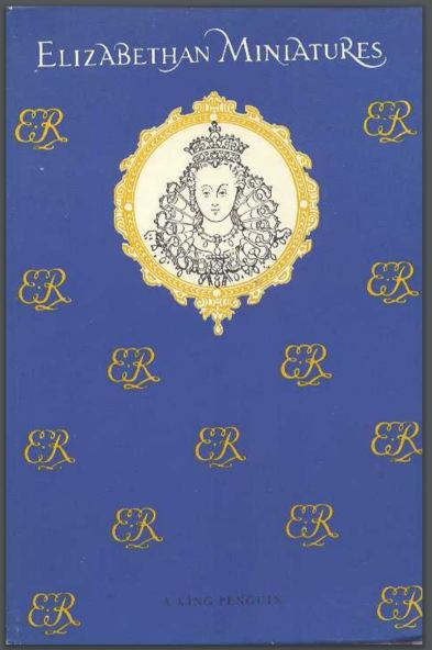 ‌Portada de Elizabethan Miniatures. Carl Winter, Penguin Books 1955