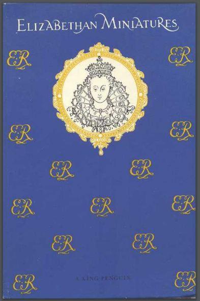 Portada de Elizabethan Miniatures. Carl Winter, Penguin Books 1955