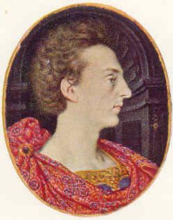 Enrique Federico Estuardo por Isaac Oliver (5,33 x 4,57 cm) Fitzwilliam Museum Cambridge