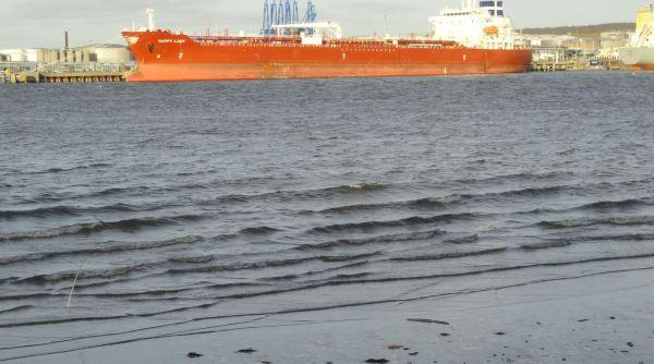 Esto era una playa. Foto R.Puig