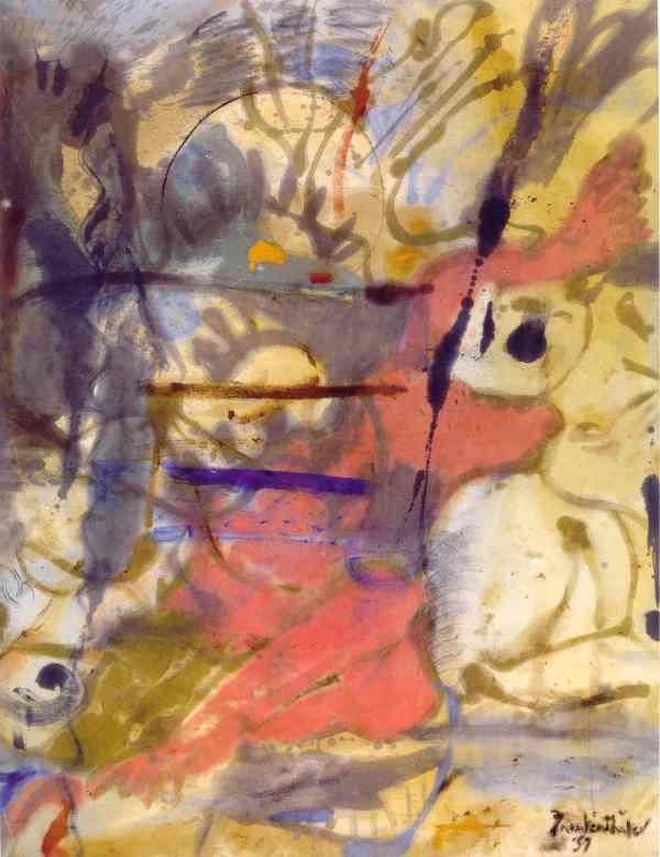 Europa. Helen Frankenthaler 1957. Helen Frankenthaler Foundation N.Y.