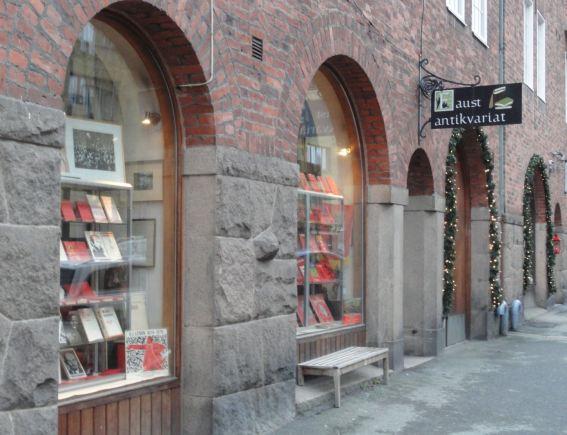 Faust. Libros de viejo. Gotemburgo. Foto R.Puig