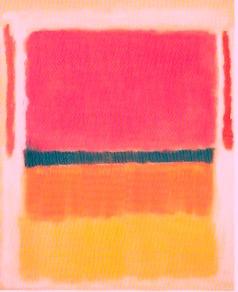 Mark Rothko.Sin título.Guggenheim. N.Y. 1949