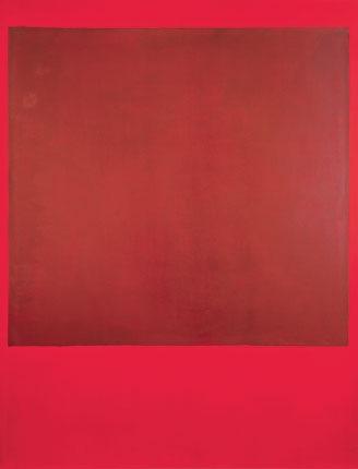 Mark Rothko untitled. Tate Modern.  1964
