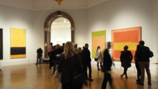 Obras de Mark Rothko. Exposición del Expresionismo abstracto. Royal Academy of Arts .Foto R.Puig