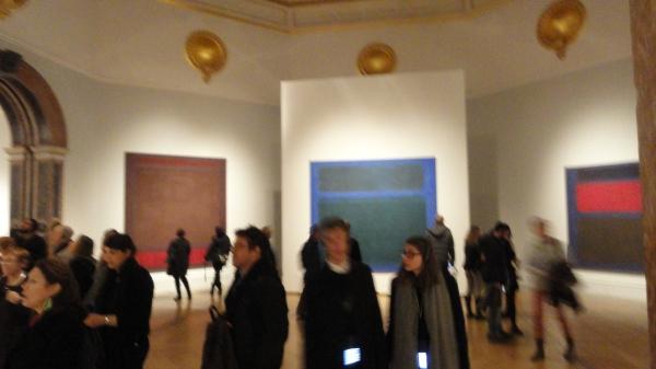 Obras de Mark Rothko. Exposición Expresionismo abstracto. Royal Academy of Arts.Foto R.Puig