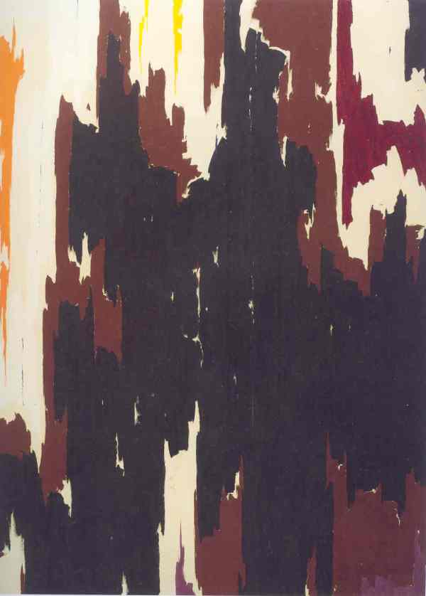 PH 150. Clyfford Still 1958. Clyfford Still Museum. Denver
