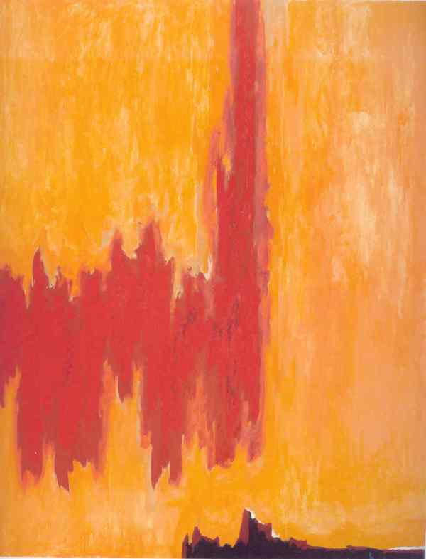 PH 4. Clyfford Still 1952. Clyfford Still Museum. Denver
