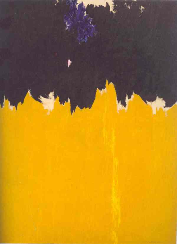 PH 950. Clyfford Still 1950. Clyfford Still Museum. Denver