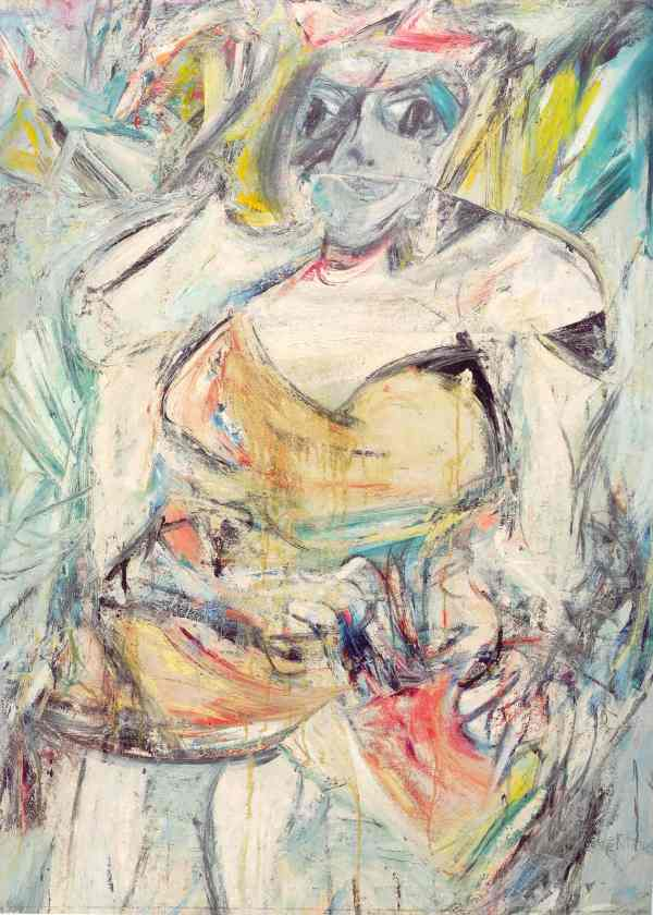 Woman II. Willem De Kooning 1952. MOMA New York