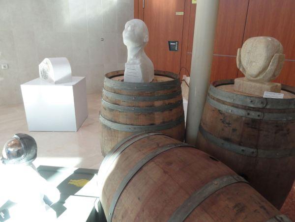 Certamen de Escultura en piedra. Fundación Levantina. Casa del mármol y del vino de Pinoso. Foto R.Puig