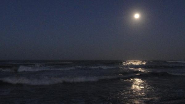 El ama de la playa. Foto R. Puig