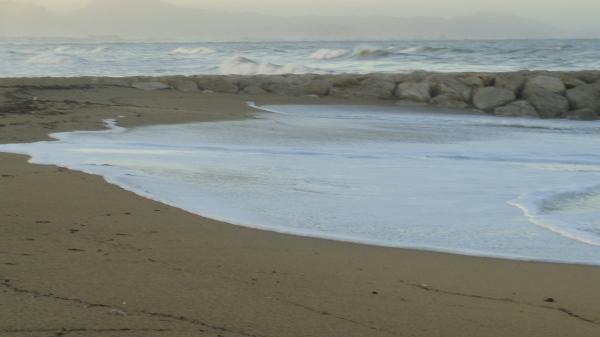 El manto lácteo de la ola. Foto R.Puig