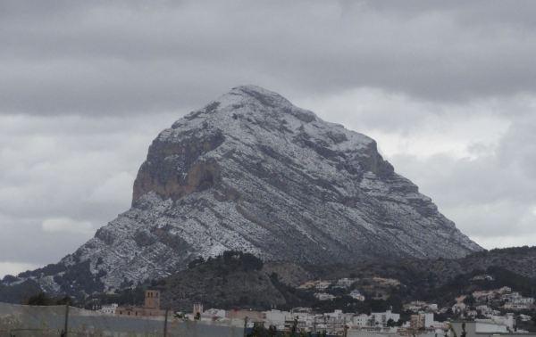 El puño de Akal desde Javea. Foto R.Puig