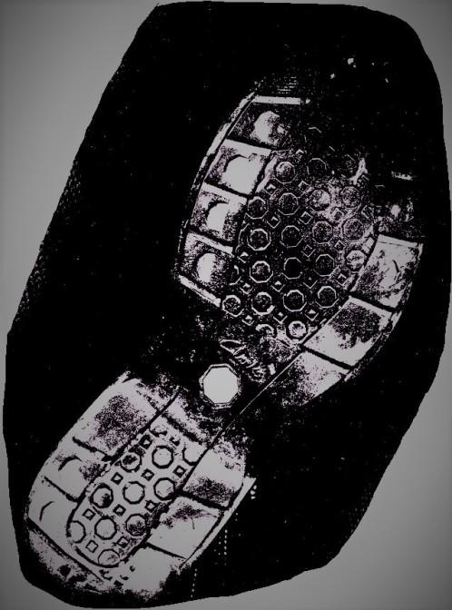 Mi zapato enfurruñado