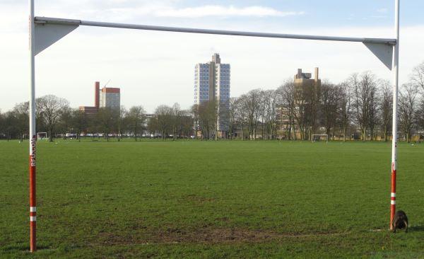 Campus vertical. Leicester. Foto R.Puig
