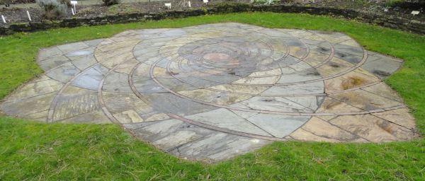 Espiral vegetal de Fibonacci. Botánico de Leicester. Foto R.Puig -