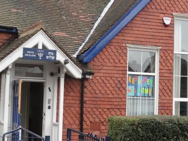 La sinagoga da la bienvenida a los refugiados. Leicester. Foto R.Puig