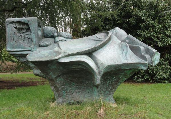 Paisaje toscano de Ken Ford. Botánico de Leicester. Foto R.Puig -